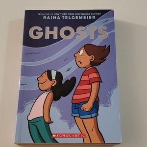 GHOSTS Book by Raina Telgemeier